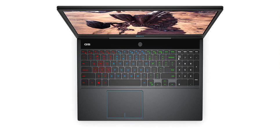 Notebook dell g5 e seu teclado rgb