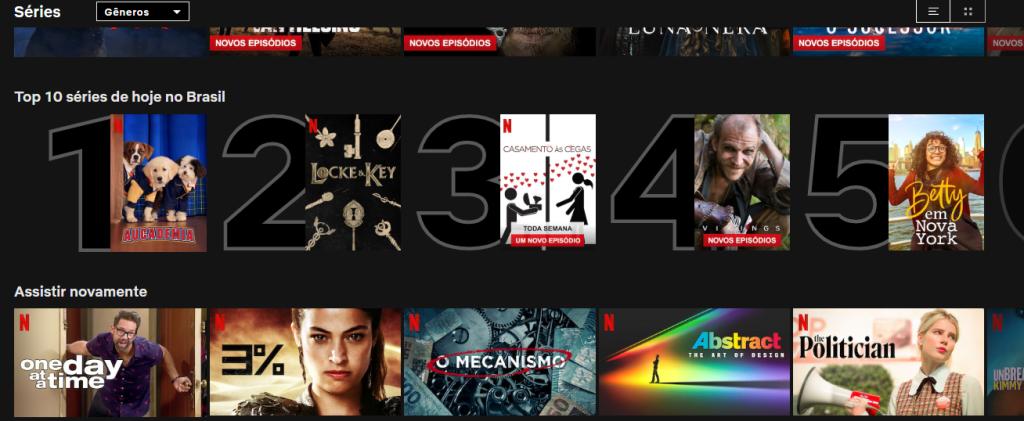 Netflix ranking top 10
