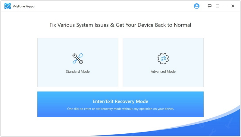 iMyFone Fixxpo tutorial