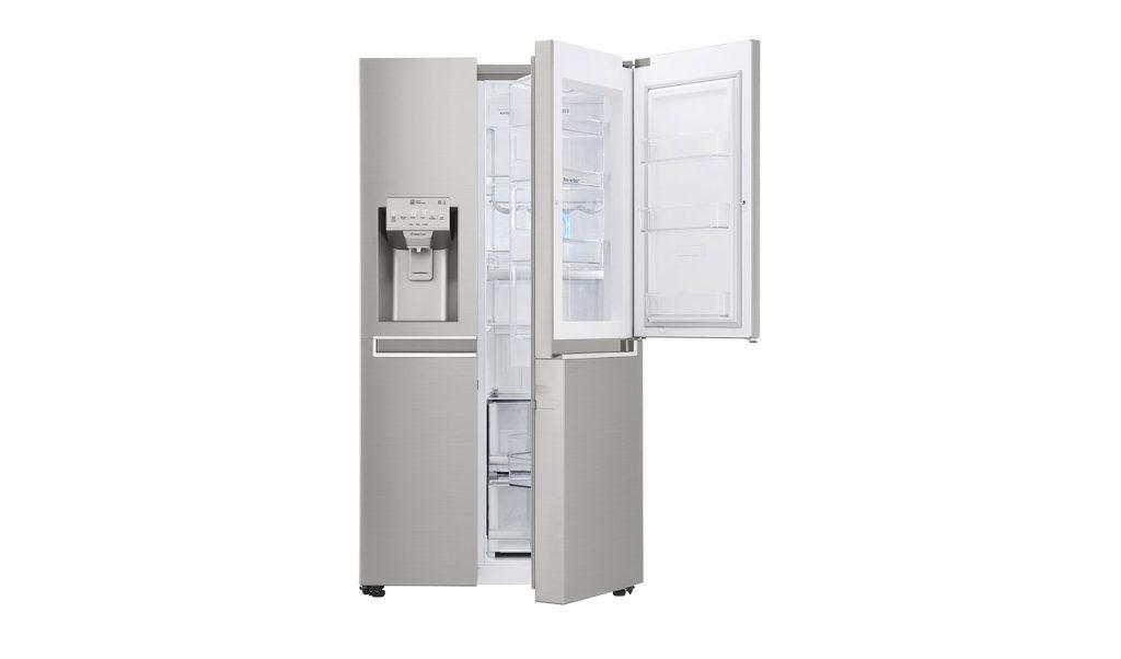 A tecnologia Door in Door garante acesso rápido aos alimentos