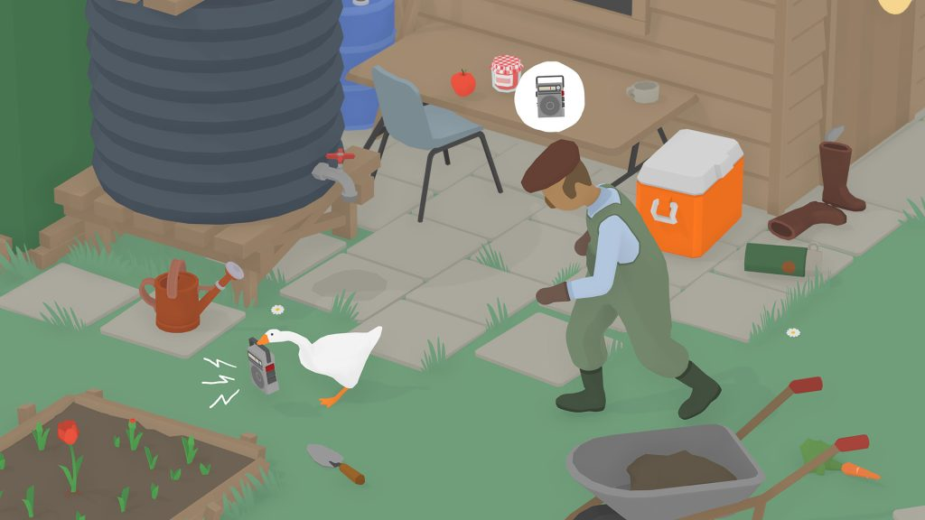 Que tal se tornar um ganso e infernizar a vida de todos a sua volta em Untitled Goose Game?