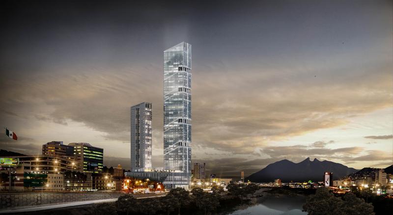 Empreedimento futurista torres obispado
