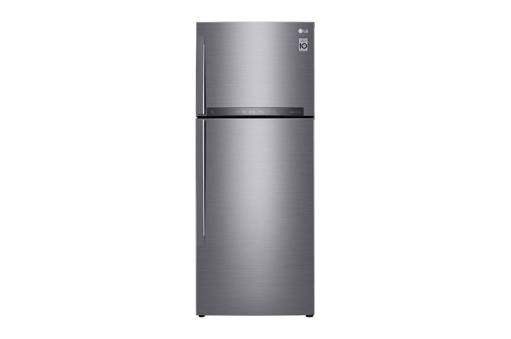 Todos os refrigeradores LG da nova linha conectada contam com acabamento Print Proof, resistente a manchas e impressões digitais