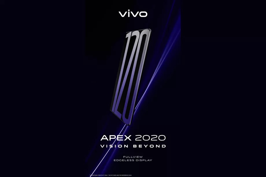 vivo APEX 2020 Concept Phone pode chegar com tela com taxa de atualização de 120Hz