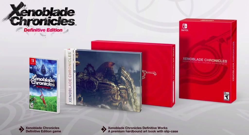 Edição especial de Xenoblade Chronicles exibida no Nintendo Direct Mini