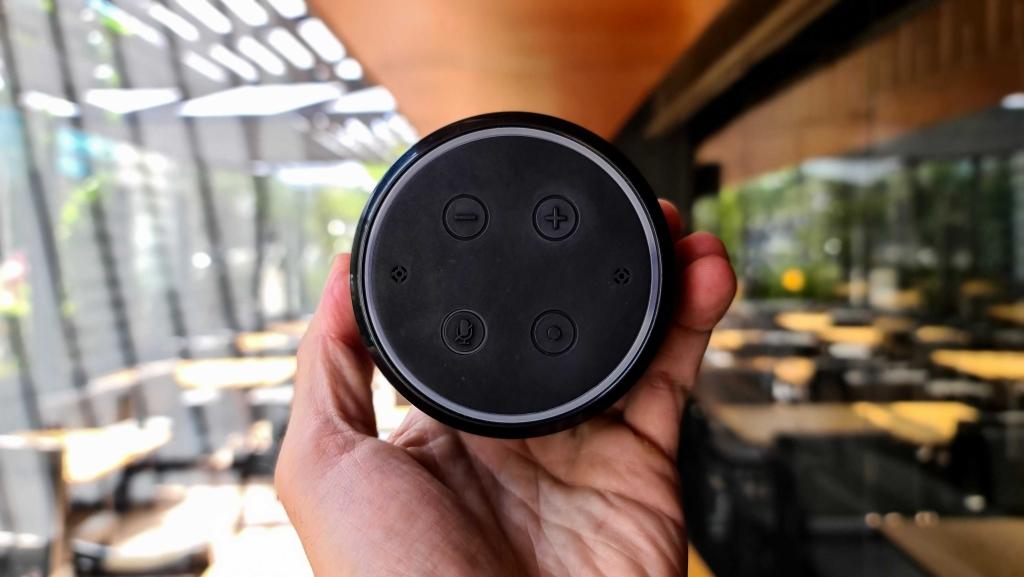 Imagem com os botões disponíveis na izy speak
