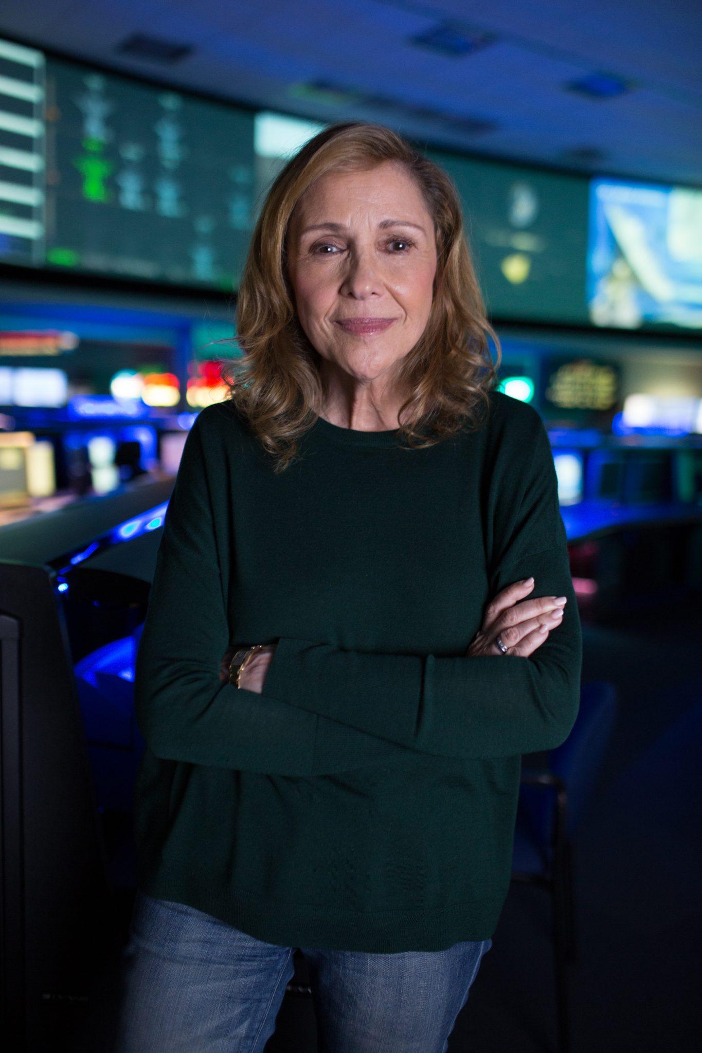 criadora da série Cosmos e viúva de Carl Sagan