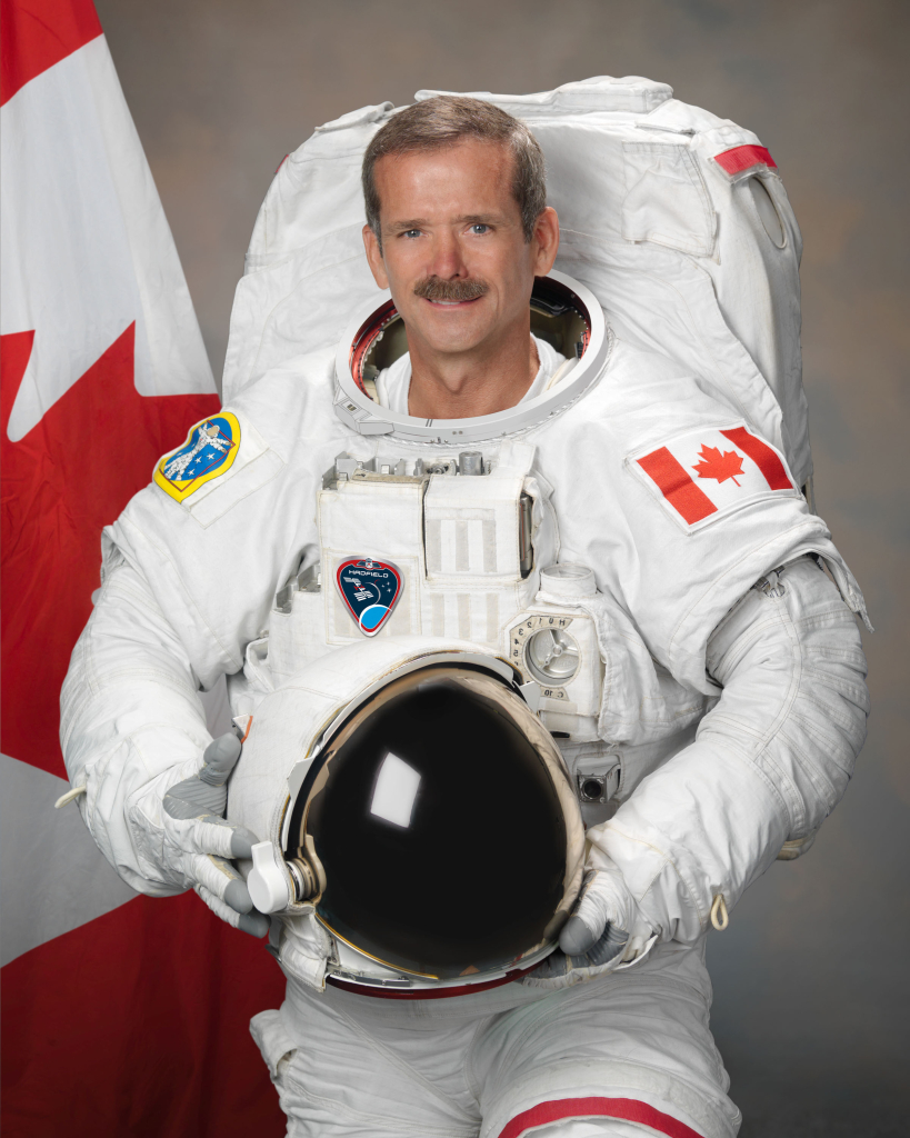 astronauta chris hadfield isolamento