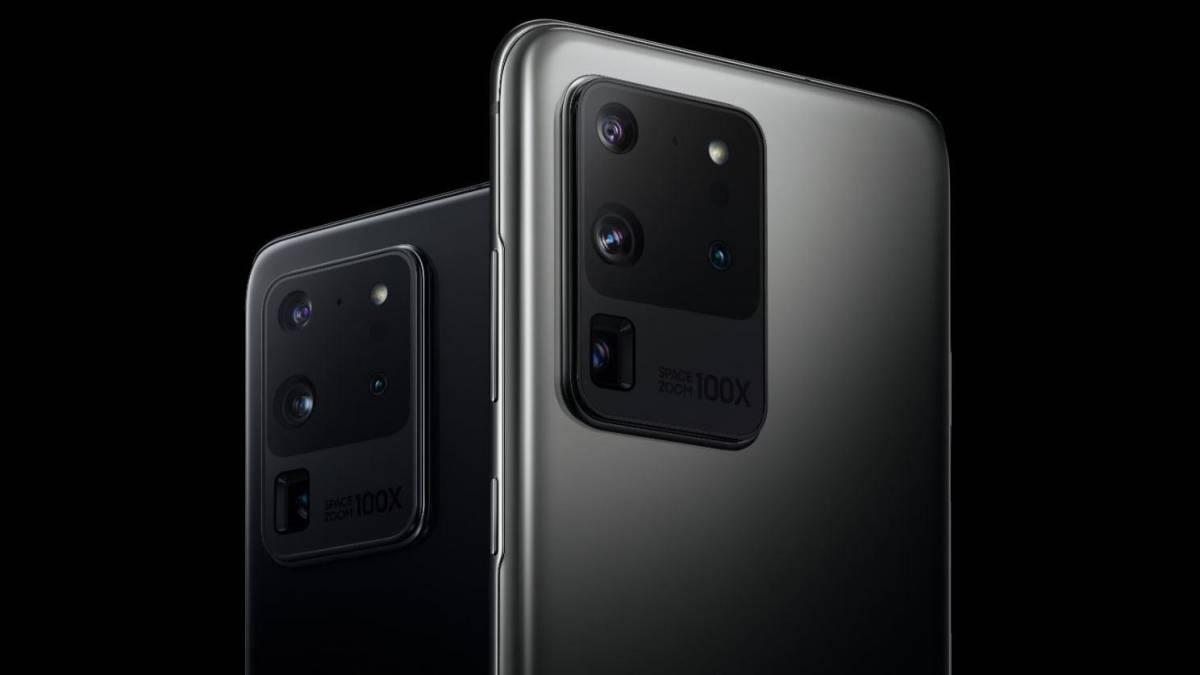 Câmera traseira do Galaxy S20 Ultra