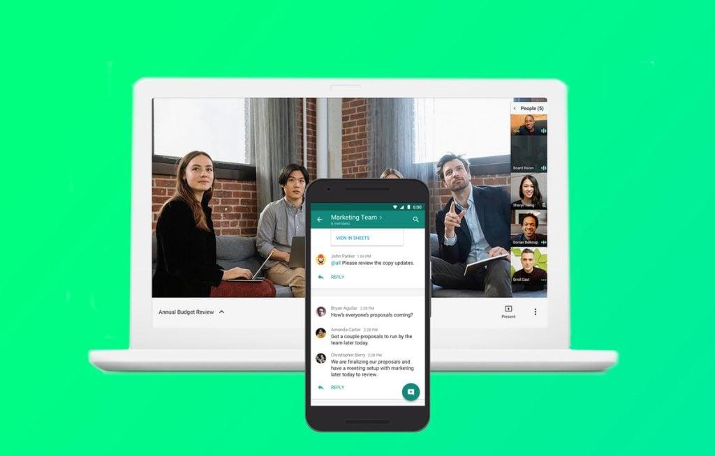 Videoconferência - Hangouts Meet
