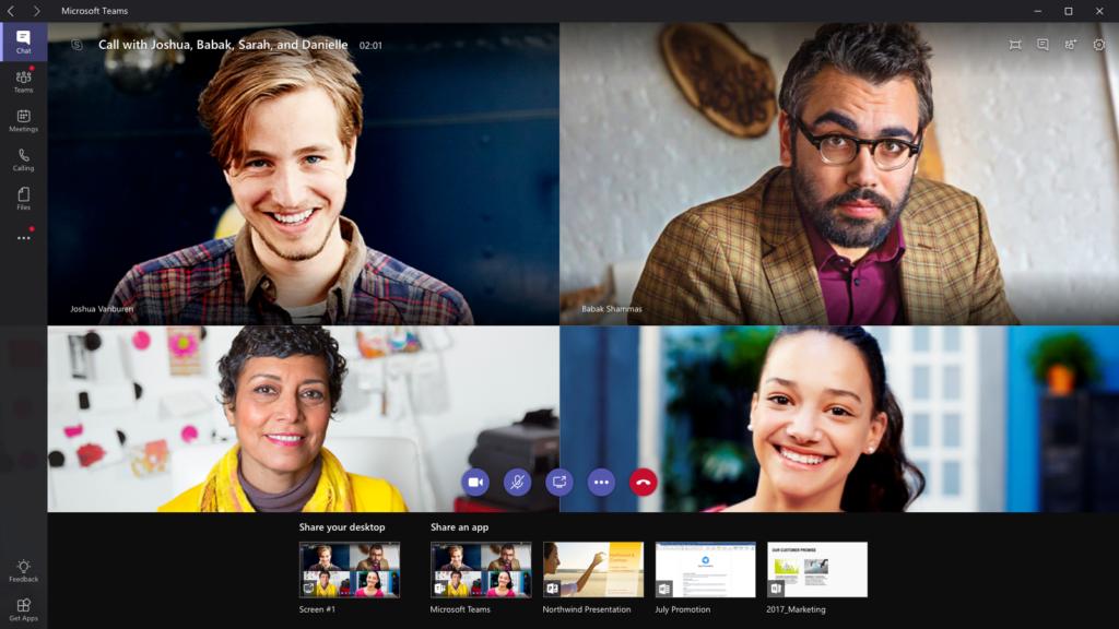 Videoconferência - Microsoft Teams