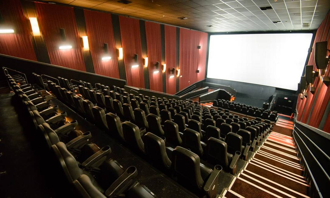 Sala de Cinema Cinemark