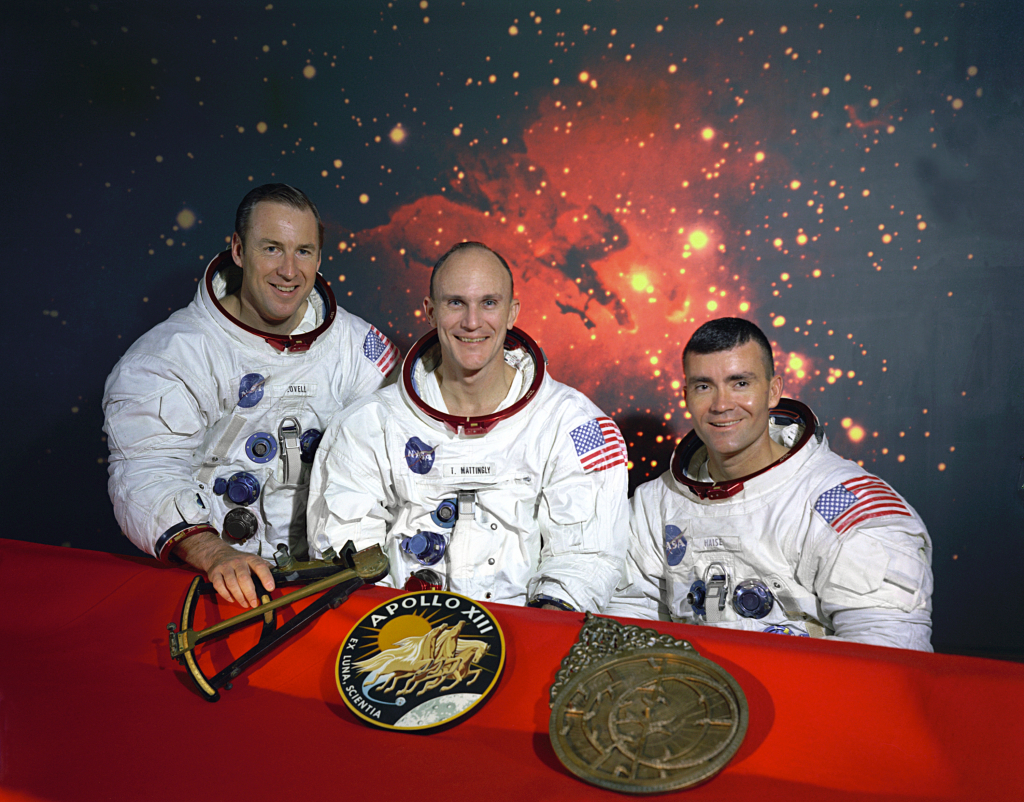 Astronautas que participaram da missão apollo 13