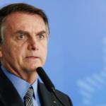Jair Bolsonaro assustado