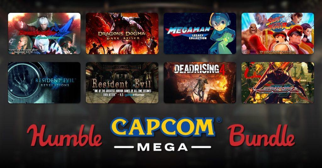 Games oferecidos no pacote de jogos da Capcom