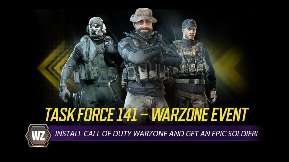 Портативный Call of Duty На рекламном мероприятии появляются Призрак, Капитан Прайс и еще один солдат