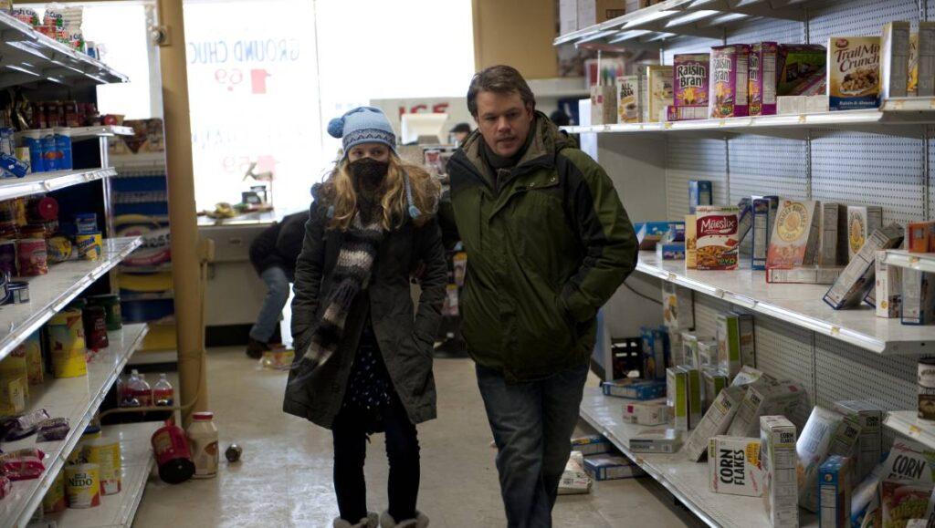 O filme Contagion, de 2011, contou com especilistas na área da saúde durante a sua produção