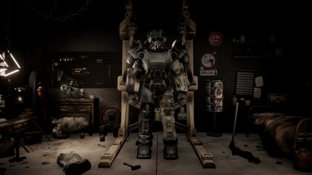 Armadura de proteção radioativa de Fallout 4