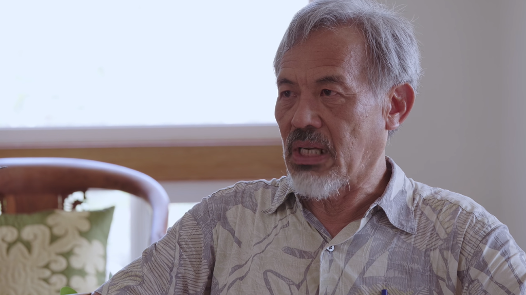 Dr. Pang, pesquisador do havaí. Reprodução: glad you asked.