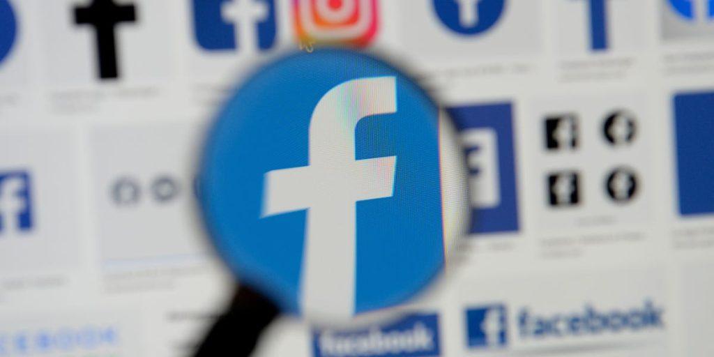 Logo do facebook. A empresa não classificou a publicação como mídia manipulada