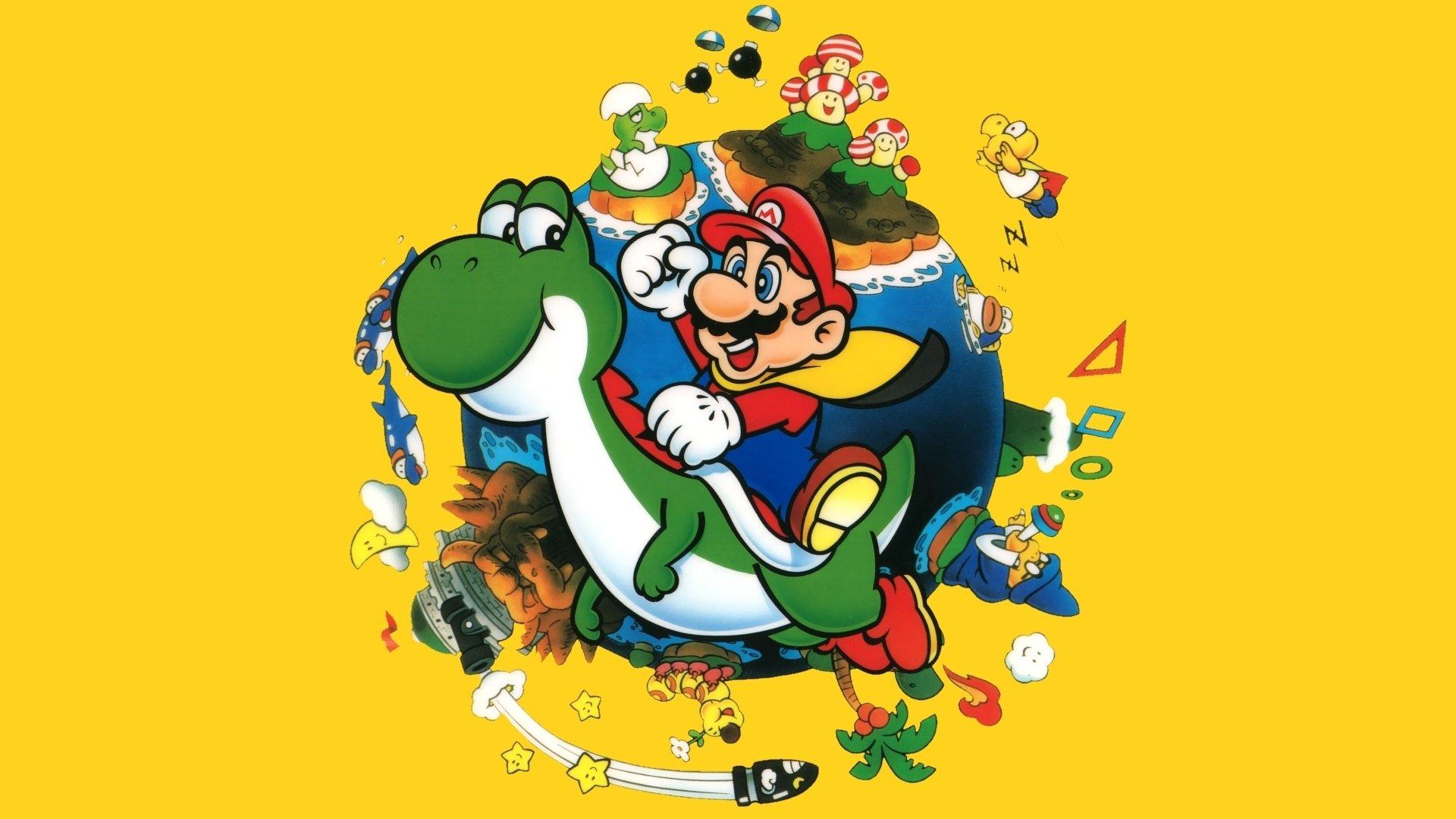 Mario world nitendo aniversário
