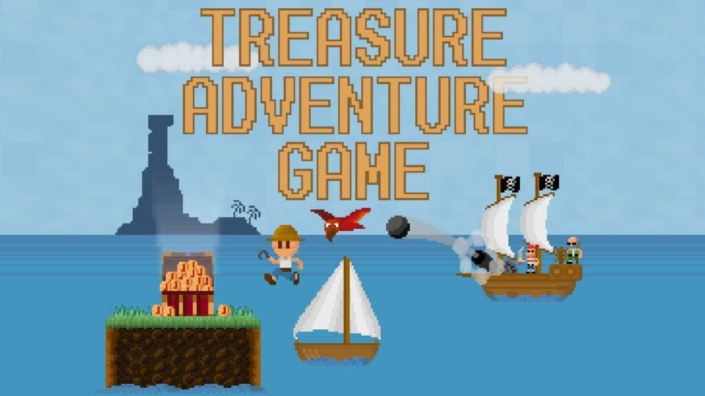 Mar, ilhas, tesouros e piratas no game
