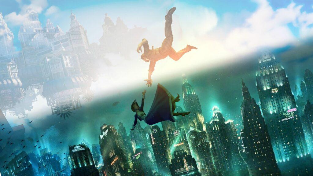 Imagem dos games da coletânea de Bioshock