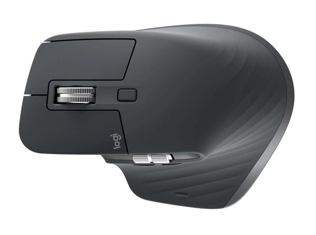 Parte superior do mouse Logitech MX Master 3