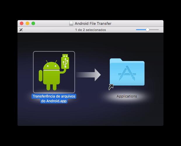 Como transferir seus arquivos do android para o mac - instalando android file transfer do google no macos