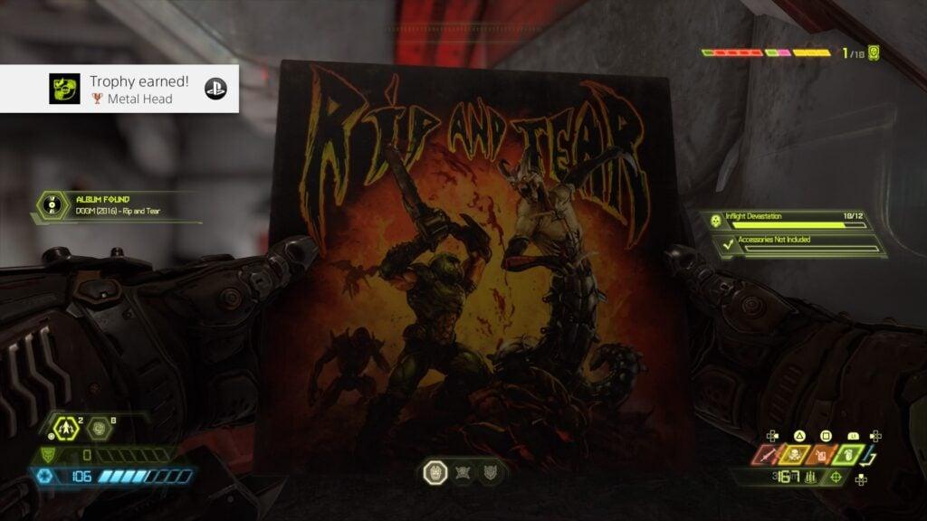 Aquisição de uma música do Doom de 2016.