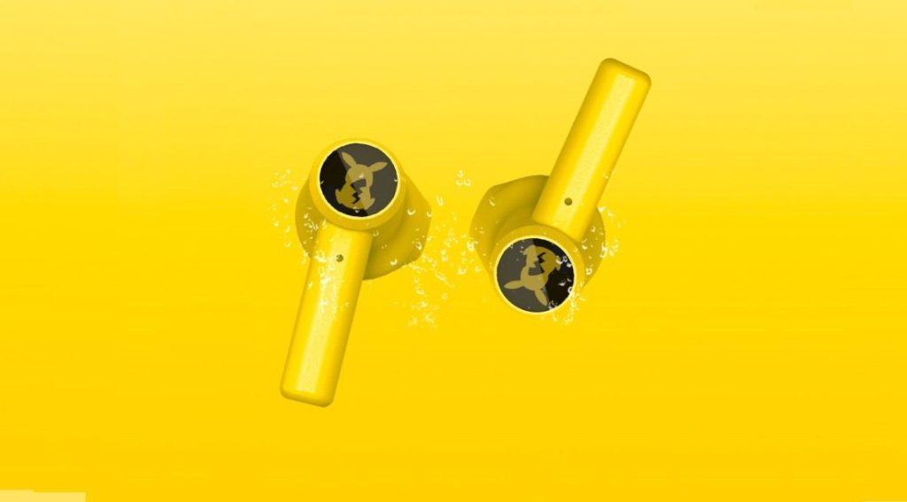 Fones de ouvido do Pikachu