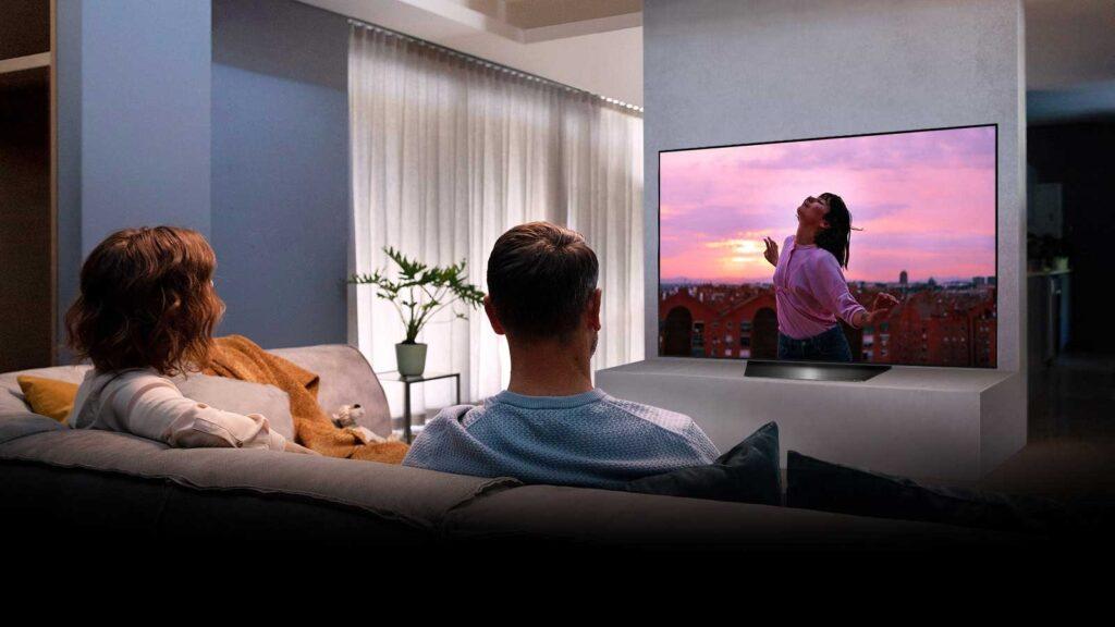 Smart TV OLED LG b9 Imagem Promocional
