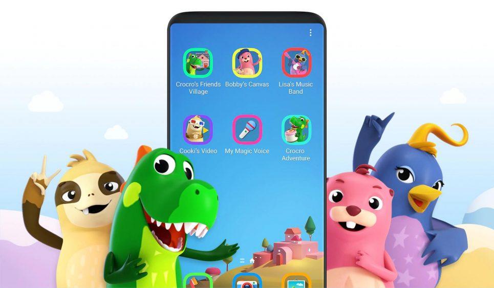 Samsung espaço infantil