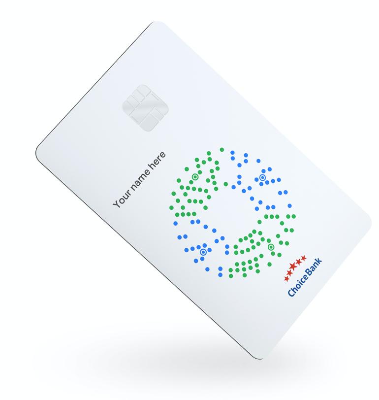 Design simples do Google card
