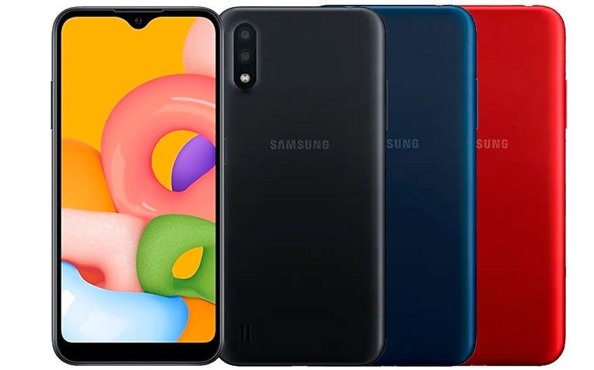 Novo Samsung Galaxy A01