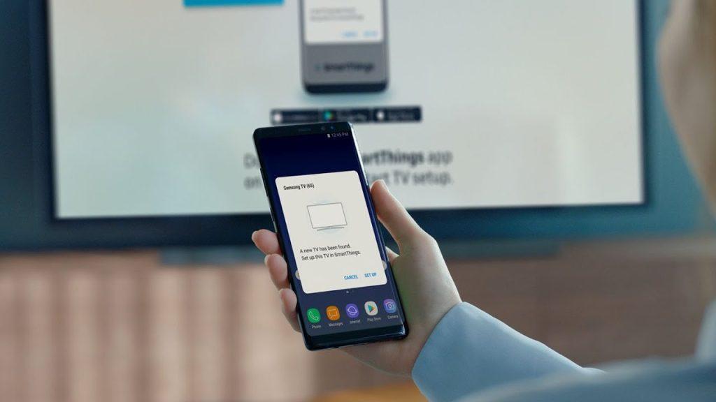 Conectando o smartphone na Smart TV para assistir lives