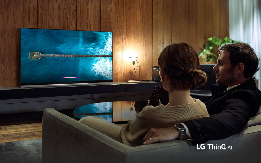 mart TV OLED LG E9 Imagem Promocional