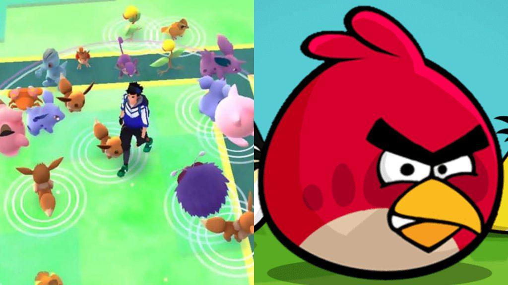 Pokémon Go e Angry Birds são sucessos de Android