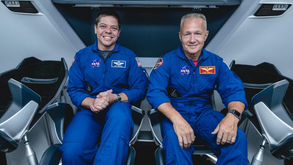 Astronautas Nasa Spacex Crew Dragon