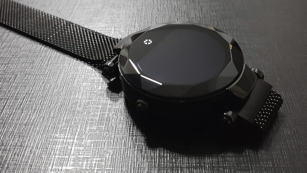 Atrio paris, relógio inteligente, com tela desligada