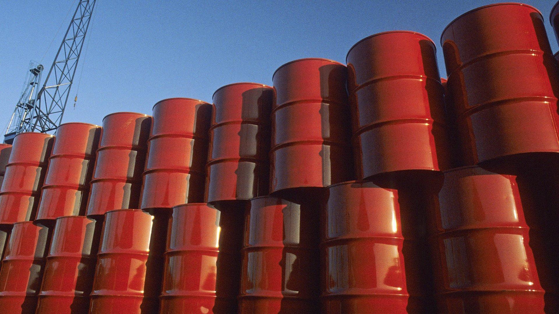 Barril petróleo