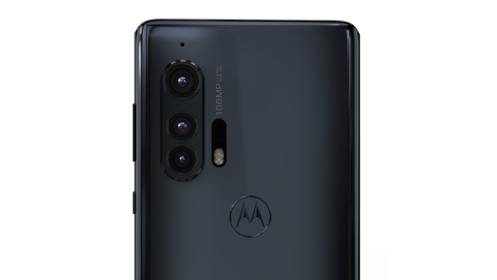 Sistema de câmeras do Motorola Edge+
