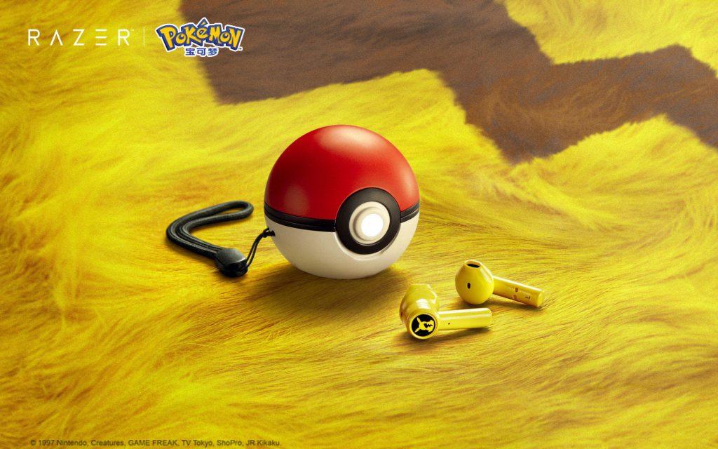 Fone de ouvido do Pokémon