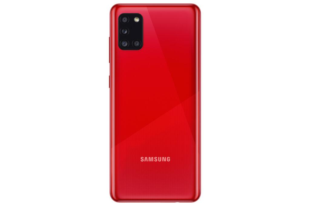 Galaxy a31 vermelho