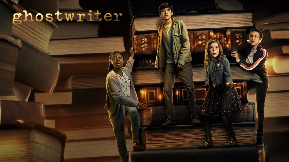 Capa da série Ghostwriter no Apple TV+