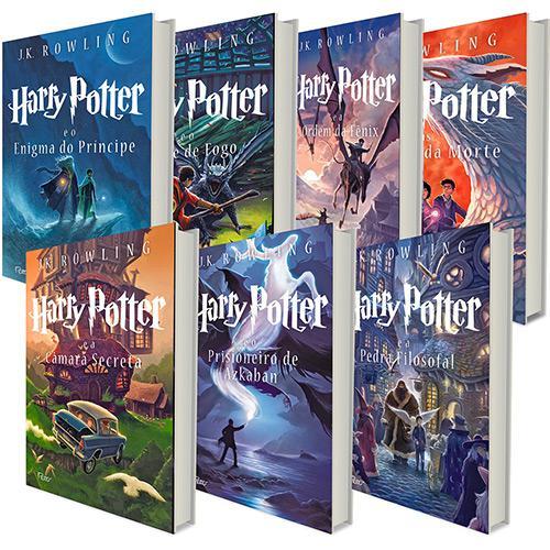 Harry potter livros