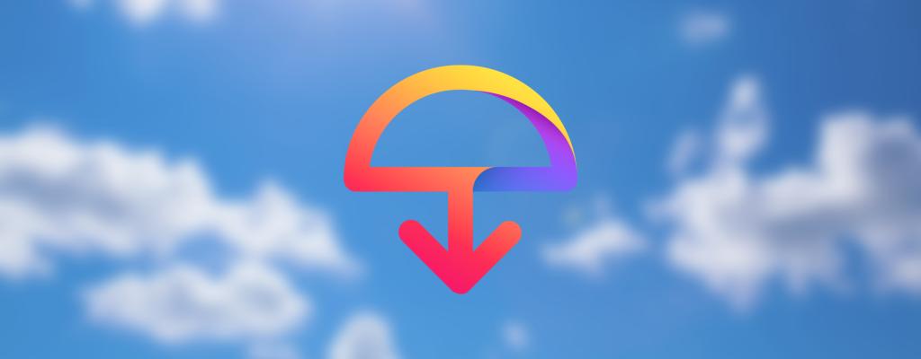 Ilustração do logotipo do Firefox Send, da empresa Mozilla, para enviar arquivos