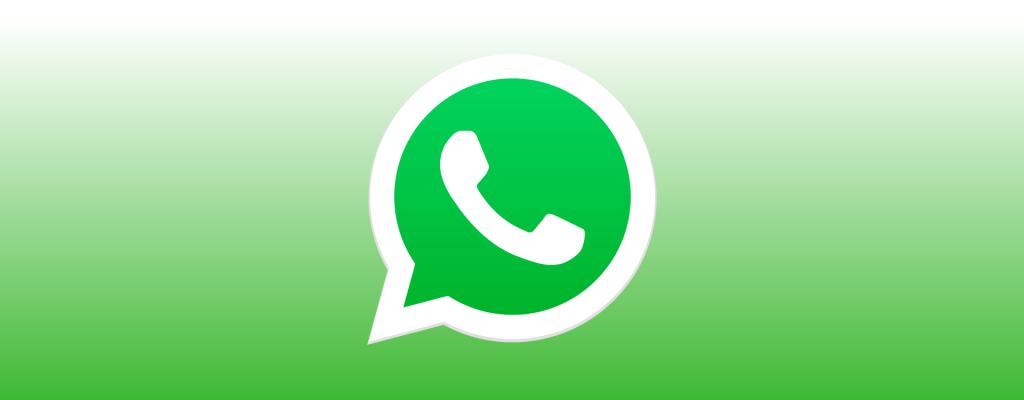 Ilustração com o logotipo do whatsapp