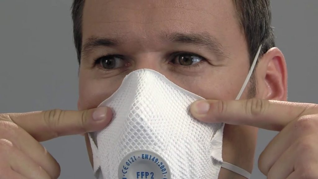 Máscara filtrante FFP-2