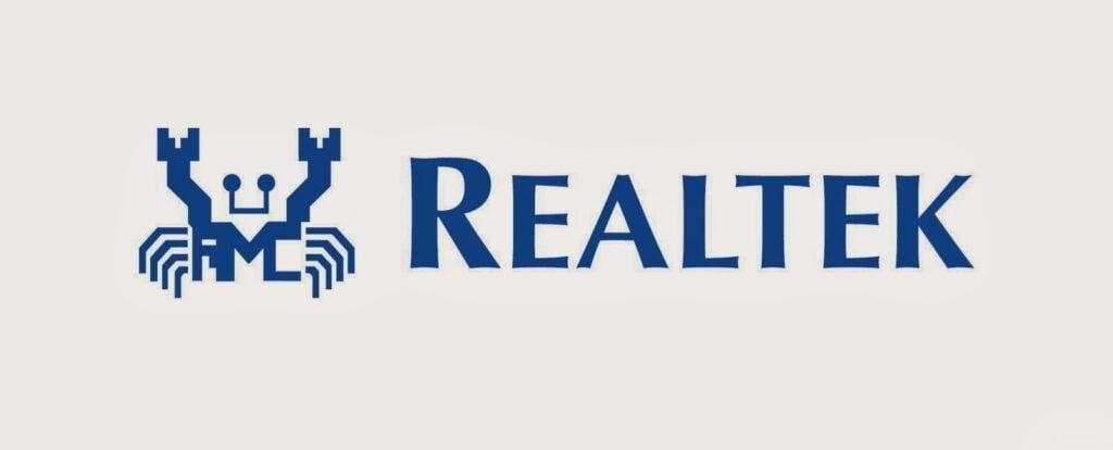 Logo da realtek
